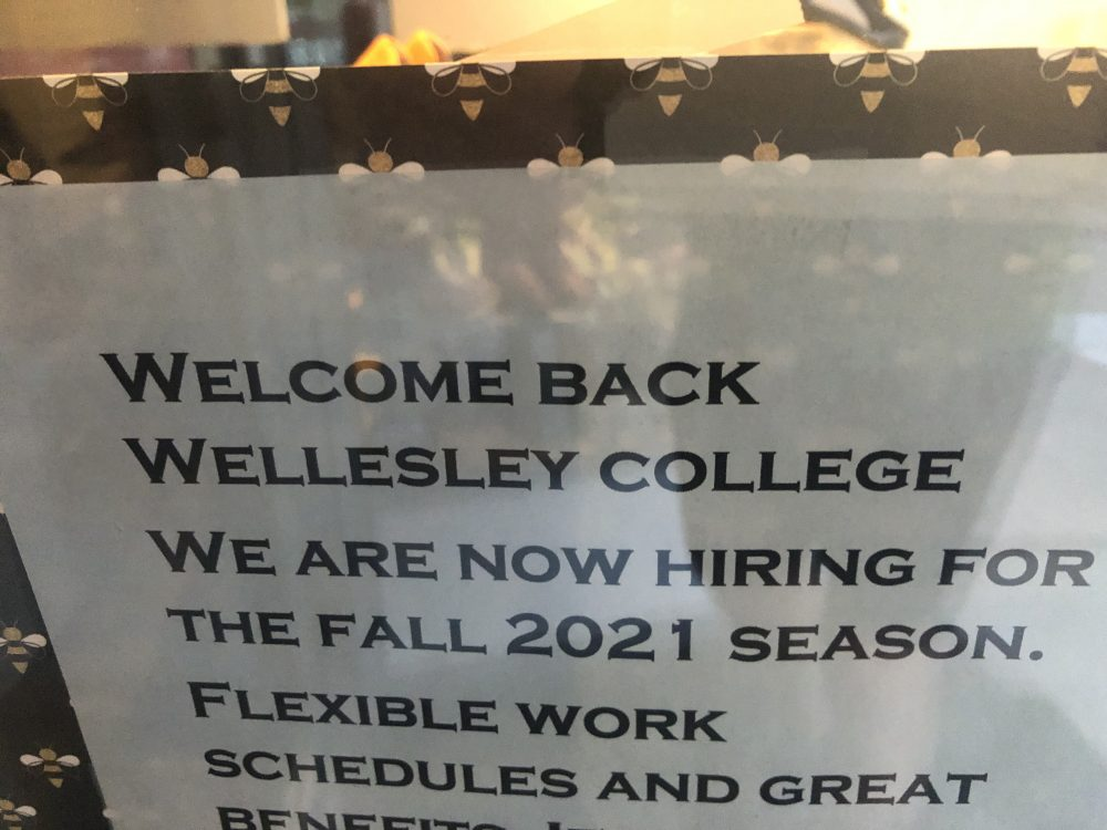 hiring sign wellesley square
