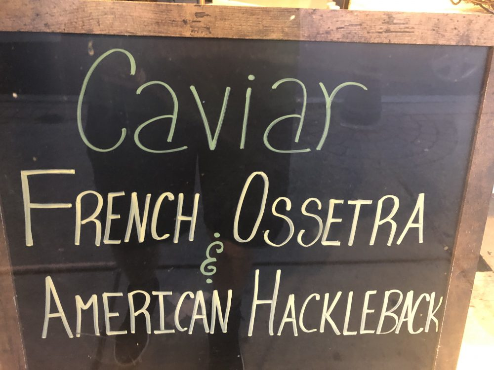 caviar sign wellesley square