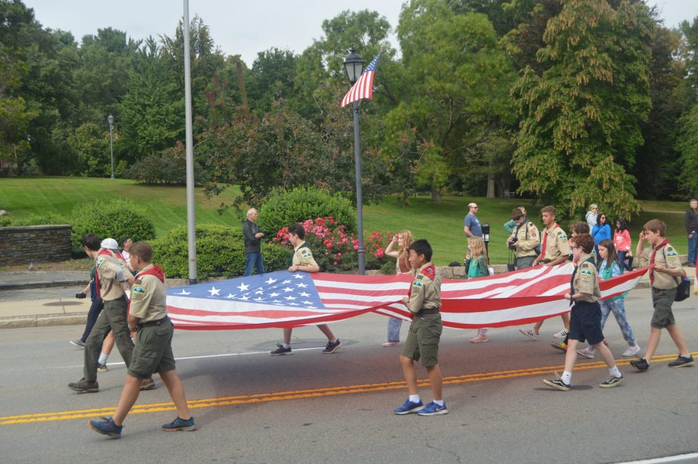 scouts flags