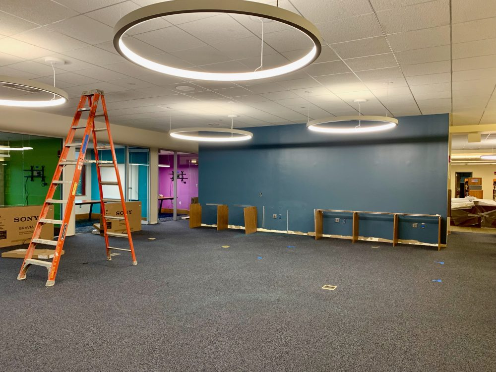 Wellesley Free Library renovation